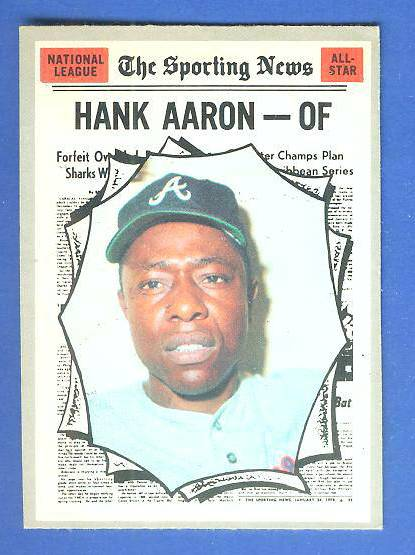 1970 O-Pee-Chee/OPC #462 Hank Aaron All-Star [#d] (Braves) Baseball cards value