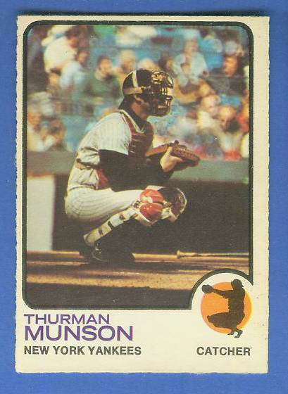 1973 O-Pee-Chee/OPC #142 Thurman Munson [#b] (Yankees) Baseball cards value