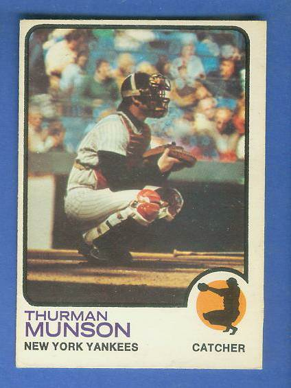 1973 O-Pee-Chee/OPC #142 Thurman Munson [#c] (Yankees) Baseball cards value
