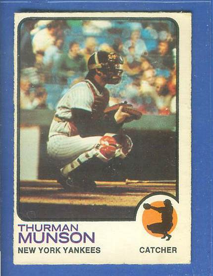 1973 O-Pee-Chee/OPC #142 Thurman Munson [#d] (Yankees) Baseball cards value
