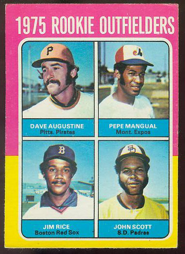 1975 O-Pee-Chee/OPC #616 Jim Rice ROOKIE (Red Sox) Baseball cards value