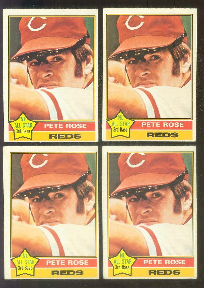 1976 O-Pee-Chee/OPC #240 Pete Rose [#b] (Reds) Baseball cards value