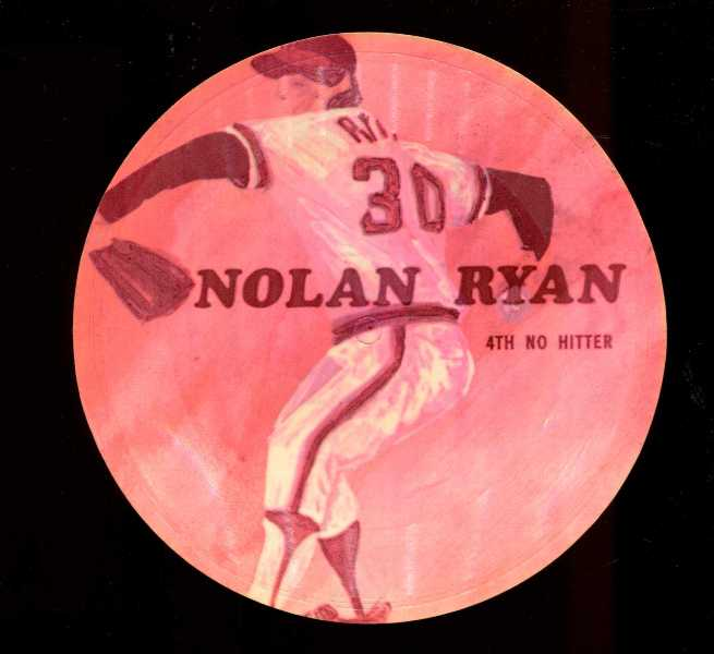1970's Sports Challenge Record - NOLAN RYAN Baseball cards value