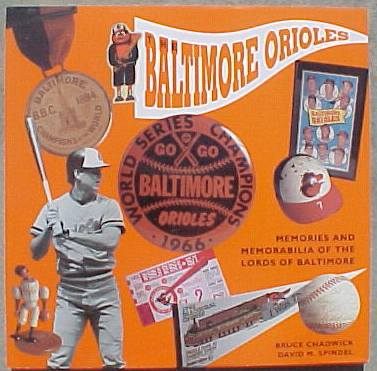 Hard back book: 'The Orioles - Memories & Memorabilia-Century of Baseball' Baseball cards value