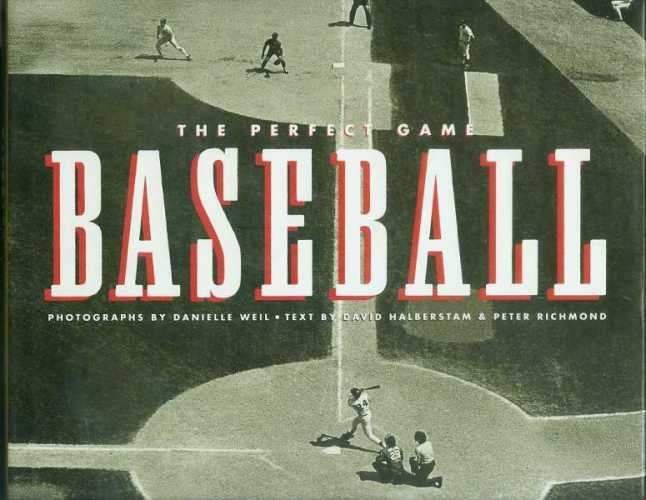 Hard back book: 'The Perfect Game BASEBALL' Baseball cards value