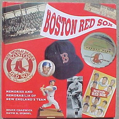 Hard back book: 'The Red Sox - Memories & Memorabilia-Century of Baseball' Baseball cards value