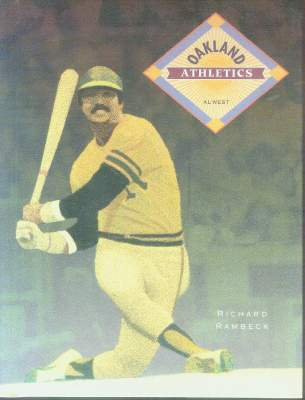 Hard back book: 'Oakland Athletics' w/Reggie Jackson cover Baseball cards value