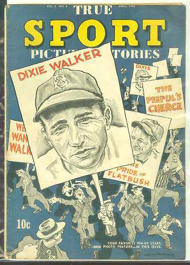 1944 True Sport #2-6 Comic Book - Featuring Dixie Walker (Dodgers) Baseball cards value