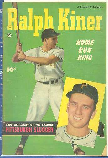 1950 Ralph Kiner 'Home Run King' Comic Book [#b] (Pirates) Baseball cards value