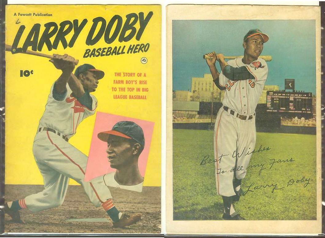 1950 Larry Doby 'Baseball Hero' Comic Book (Indians) Baseball cards value