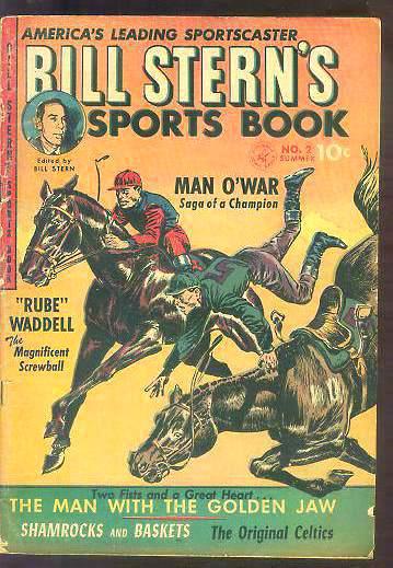 1952 Bill Stern's Sport Book #2 Comic Baseball cards value