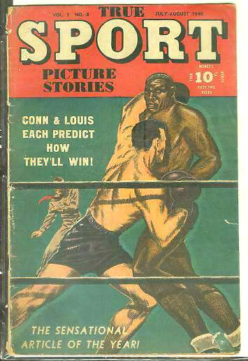 1946 True Sport #3-8 Comic Book - with Joe Louis vs Bill Conn (BOXING) Baseball cards value