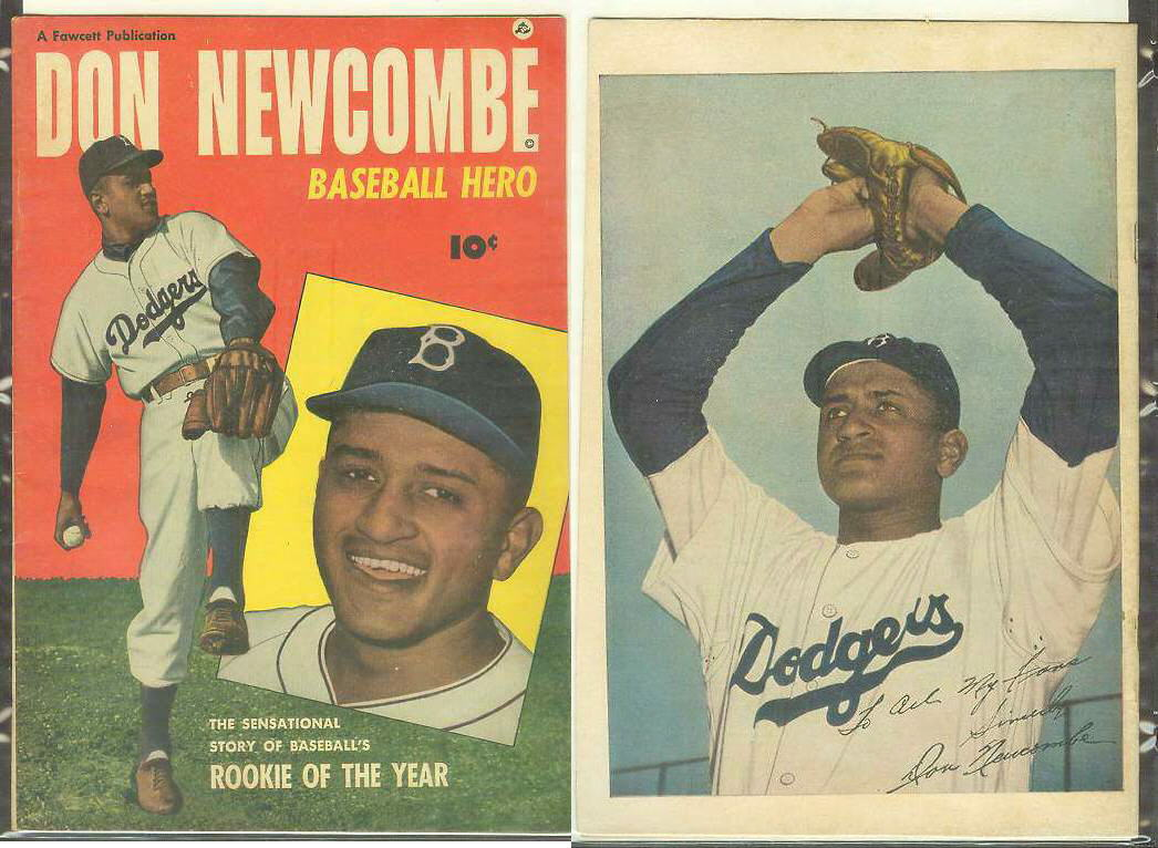 1950 Don Newcombe 'Baseball Hero' Comic Book (Dodgers) Baseball cards value