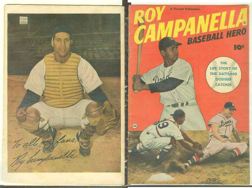 1950 Roy Campanella 'Baseball Hero' Comic Book (Dodgers) Baseball cards value