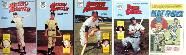 BASEBALL COMIC BOOKS (1991-92) - LOT OF (100) with MICKEY MANTLE #1 & #2