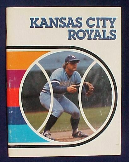 1982 Kansas City Royals paperback book - (George Brett cover) Baseball cards value