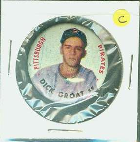 Dick Groat - 1956 Topps PIN [#c] (Pirates) Baseball cards value