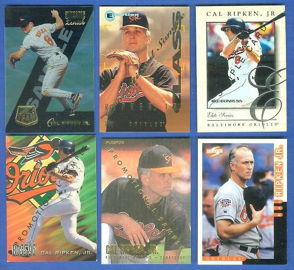 Cal Ripken - 1996 Fleer #20 PROMO (Orioles) Baseball cards value