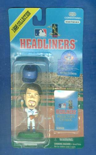 Roger Clemens - 1998 HEADLINERS in NM/MINT SEALED PACKAGE Baseball cards value