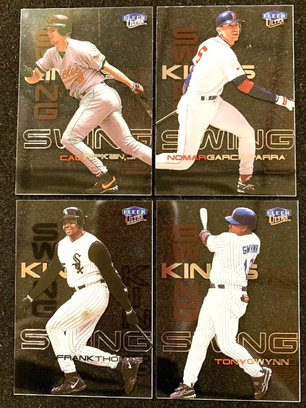 2000 Fleer Ultra - SWING KINGS - Complete Insert Set (10 cards) Baseball cards value