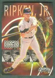 1998 Fleer Circa Thunder 'BOSS 98' - Complete 20-card Insert Set Baseball cards value