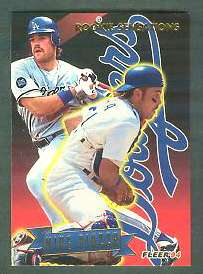 1994 Fleer 'ROOKIE SENSATIONS' - Complete 20-card Insert Set Baseball cards value