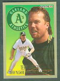 1994 Fleer 'TEAM LEADERS' - Complete 28-card Insert Set Baseball cards value