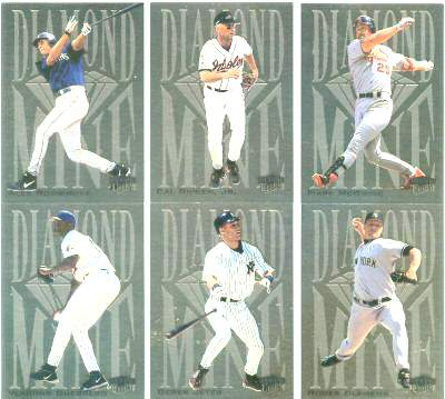 2000 Ultra 'DIAMOND MINE' - Complete 15-card Insert Set Baseball cards value