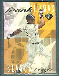 1995 Leaf 'FRANK THOMAS' - Complete 6-card Insert Set Baseball cards value