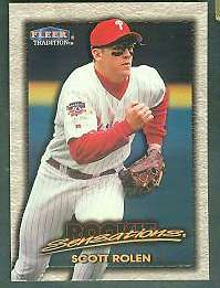 1998 Fleer Tradition 'ROOKIE SENSATIONS' - Complete 20-card Insert Set Baseball cards value