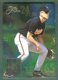 1994 Flair 'HOT NUMBERS' - Complete 10-card Insert Set Baseball cards value