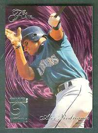 1994 Flair 'WAVE OF THE FUTURE' - Complete 20-card insert Set Baseball cards value