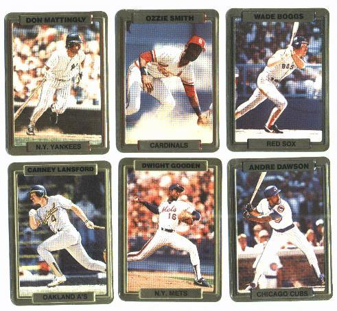 1988 Action Packed TEST cards - COMPLETE SET (5 cards) Baseball cards value