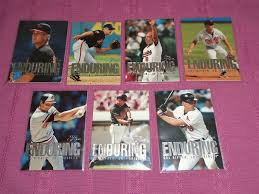 CAL RIPKEN - 1995 Flair ENDURING - Complete Insert Set (10 cards) Baseball cards value