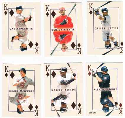 2000 Pacific Invincible 'KINGS' - Complete 30-card Insert Set Baseball cards value