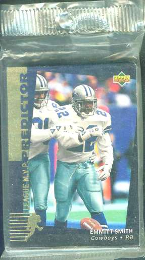 1994 Upper Deck FOOTBALL - 'PREDICTOR AWARD WINNERS' 'H' set (20 cards) Football cards value