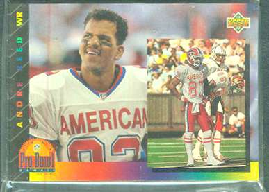 1993 Upper Deck FOOTBALL - 'PRO BOWL' Complete 20-card INSERT SET Football cards value