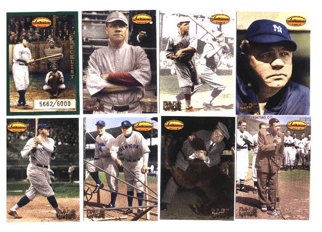 1994 Ted Williams Co. - BABE RUTH 'Trade for Babe Ruth' SET (9 cards) Baseball cards value