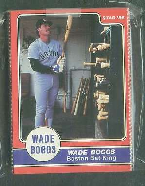 Wade Boggs - 1986 Star Company Complete 24-card set (Red Sox) Baseball cards value