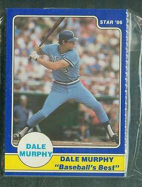 Dale Murphy - 1986 Star Company Complete 24-card set (Braves) Baseball cards value