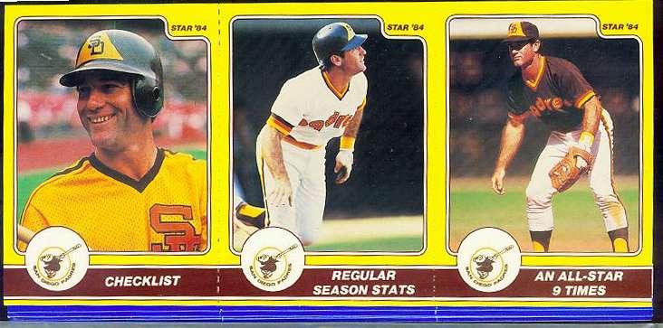 Steve Garvey - 1984 Star Company Complete 36-card set (Dodgers/Padres) Baseball cards value