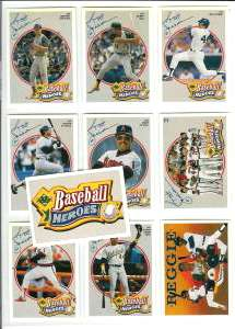 1990 Upper Deck - REGGIE JACKSON HEROES Complete Set w/SCARCE Header card Baseball cards value