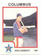 1987 ProCards COLUMBUS ASTROS (25) Complete TEAM SET (minor league) Baseball cards value