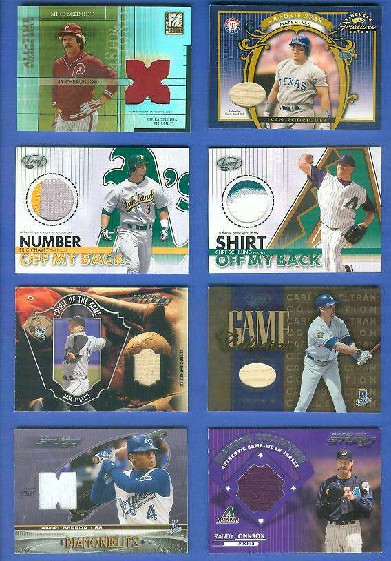Eric Chavez - 2003 Leaf 'Number Off..Back' GAME-USED JERSEY NUMBER PATCH Baseball cards value