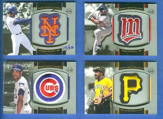 Robin Yount - 2003 Sweet Spot Classics PATCH card (Brewers) Baseball cards value
