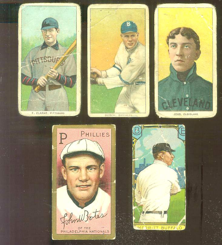 1909-1911 T206 - Fred Clarke TOBACCO CARD [var:w/Bat] [#sc] (Pirates) Baseball cards value