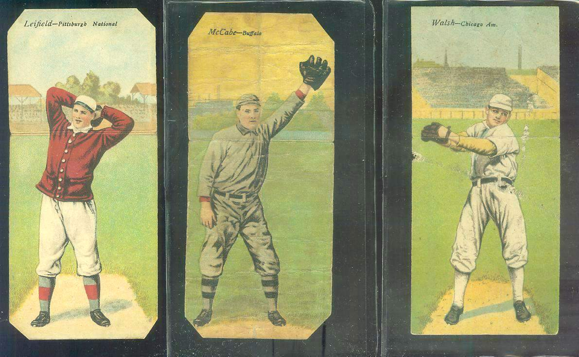 1911 Mecca Double Folders T201 #xx Ed Walsh/Fred Payne [#a] (White Sox) Baseball cards value