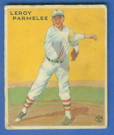 1933 Goudey #239 Leroy Parmelee Baseball cards value