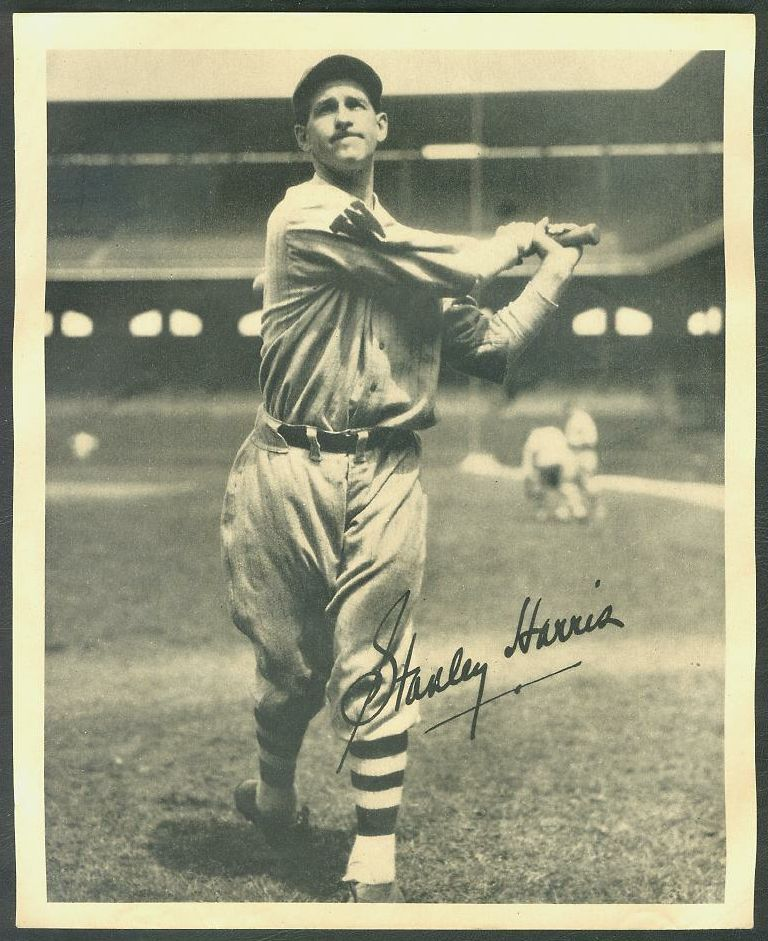 1934 Butterfinger Premium - Stanley Harris Baseball cards value