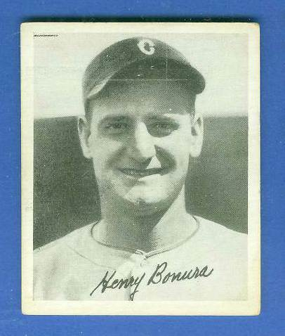 1936 Goudey B/W #.2 Zeke Bonura (White Sox) Baseball cards value